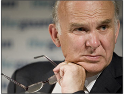 Vince Cable announces employment review and pay rise for apprentices