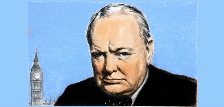 Winston Churchill: A textbook leader?