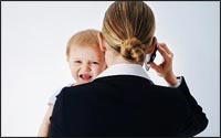 More mothers working in full time civil service roles