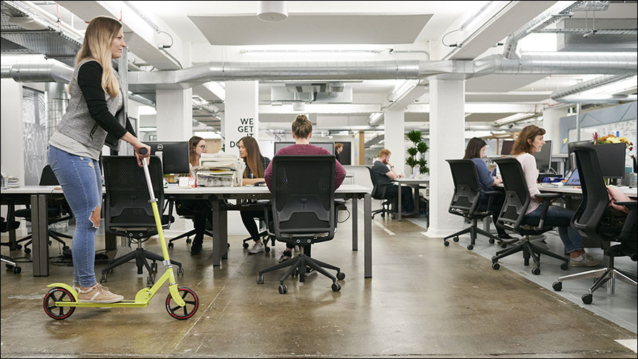 Is workplace experience the new black?